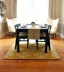 Dining Room Table Dimensions No Rug Under Dining Room Table Barclaydouglas
