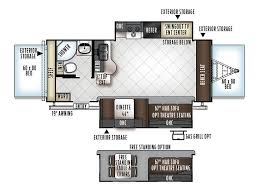 rockwood trailers floor plans 2018 forest river rockwood roo 23fl mill hall pa rvtrader com
