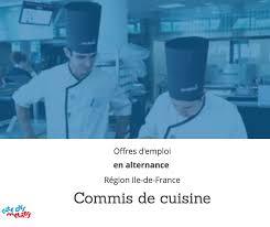 offre d emploi commis de cuisine ile de commis de cuisine archives ressources de la cité des métiers