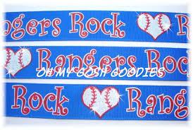 baseball ribbon baseball grosgrain ribbon ribbon rangers baseball baseball team