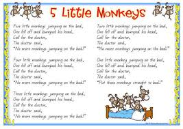 ideas collection five little monkeys jumping on the bed worksheets mainframe systems programmer sle resume essay on sound