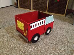 fire truck halloween basket inch of creativity november 2013