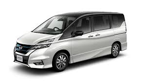 nissan cargo van black nissan serena e power is a range extended hybrid minivan