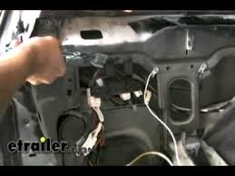 trailer wiring harness installation 2000 jeep cherokee