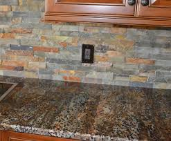 slate kitchen backsplash how to decorate your kitchen with tile draperies and accessories