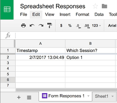 Form To Spreadsheet Form Responses Do Not Appear In The Spreadsheet Division