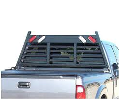 headache rack with light bar custom headache rack w 50 led light bar home and racks