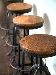 rustic industrial bar stools rustic industrial bar stools hooligan bar stool steel rustic wood