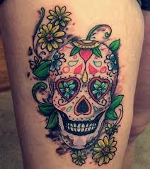 sugar skull tattoos design idea for tattoos ideas