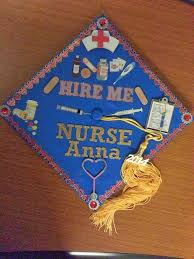 nursing graduation cap with lilith and the cats nursing graduation cap decorated