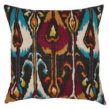 robert allen ikat band pillows fabric