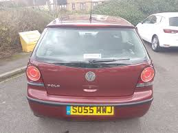 volkswagen polo 1 2 e 3dr petrol 2005 manual red vosa verified