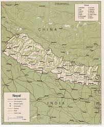 Map Of Nepal And Tibet by Nepal Gif