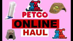 petco online haul youtube