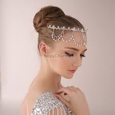 serre tãªte mariage coiffure mariage serre tête couronne mariée à embellir le front en