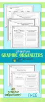 literature graphic organizers the curriculum corner 4 5 6