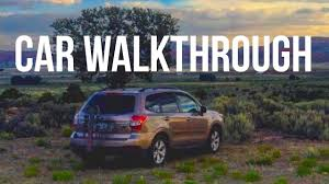 subaru camping trailer subaru camper walkthrough youtube