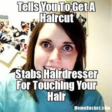 Haircut Meme - tells you to get a haircut create your own meme