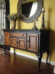 How To Distress Kitchen Cabinets by Best 20 Black Distressed Furniture Ideas On Pinterest Rustic