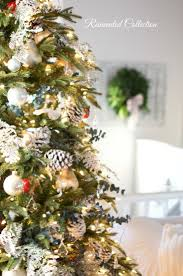 traditional christmas tree french country home decor party