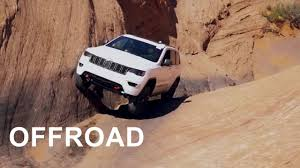 jeep grand cherokee 2017 2017 jeep grand cherokee trailhawk offroad test youtube