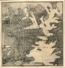 Sydney Map File Map Of Sydney And Environs 1929 Jpg Wikimedia Commons