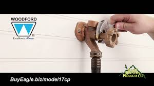 Outside Faucet Lock Woodford Model 17 Outdoor Water Faucet Installation Youtube