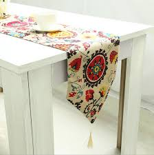 shabby chic table runner floral design table runner shabby chic home decor with decorative