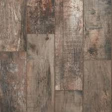 floor and decor wood tile roanoke multi wood plank porcelain tile 8in x 32in 100344217