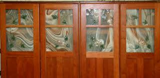 kitchen cabinet door stained glass inserts cabinet2