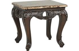 dark wood end tables cherry espresso mahogany brown etc