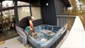 tub in basement home decorating interior design bath