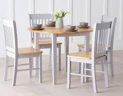 home etc genovia folding dining set with 4 chairs u0026 reviews
