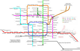 Beijing Map Beijing Subway Map Get Around With Beijing Subway With This Large