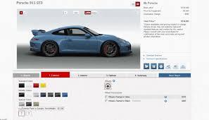 2014 porsche gt price configuring your supercar 2014 porsche 911 gt3 visual