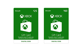 xbox cards microsoft xbox one gift card