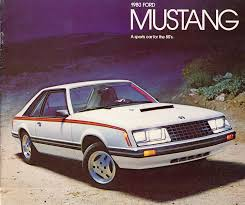 different mustang models timeline 1980 mustang the mustang source