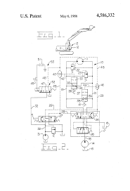component plc motor control circuit example patent us4586332