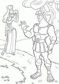 hercule coloring page coloring home