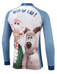 wallace u0026 gromit winter cycling jersey foska