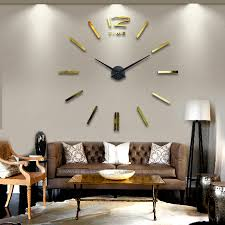 home decor wall clocks muhsein 2016 new arrival wall clocks home decor big mirror modern