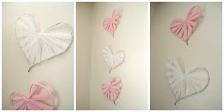 heart decorations home diy wall decorations cool home design gallery with diy wall