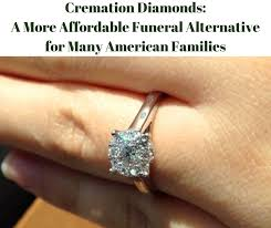 cremation diamond cremation diamonds a more affordable funeral alternative for many