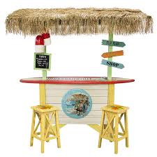 Surfboard Bar Table Margaritaville Surfboard Tiki Bar Veronneau Plants And Decor