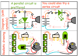 circuit design how to connect a bulb and buzzer to be operated