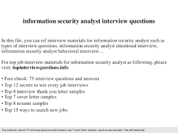 information security analyst resume sample security jobs security