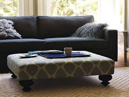 Upholstered Ottomans Impressive The 25 Best Upholstered Ottoman Coffee Table Ideas On