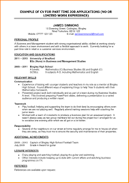 best objective for resume for part time jobs for students resume for a part time job student resume exles 2017