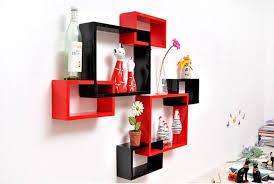 wooden wall shelf design hang on the wall circle tv wall shelf