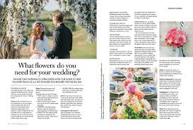 what do i need for a wedding new modern wedding flowers magazine on sale